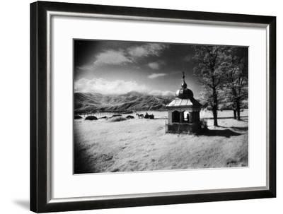 Roadside Shrine, Entrance to the Carpathian Mountains, Romania-Simon Marsden-Framed Giclee Print