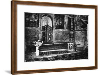 Vlad Dracul's Grave, Snagov Monastery, Wallachia, Romania-Simon Marsden-Framed Giclee Print