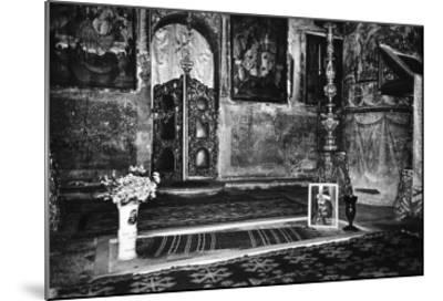 Vlad Dracul's Grave, Snagov Monastery, Wallachia, Romania-Simon Marsden-Mounted Giclee Print