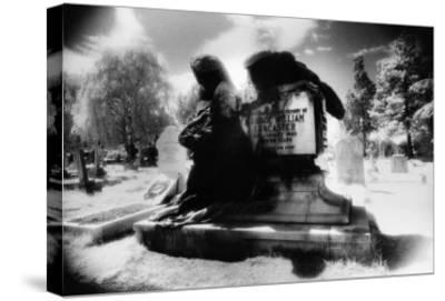 Angel of Death' Monument, East Sheen Cemetery, London-Simon Marsden-Stretched Canvas Print