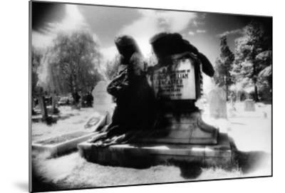 Angel of Death' Monument, East Sheen Cemetery, London-Simon Marsden-Mounted Giclee Print