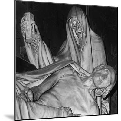 Funerary Monument, Notre Dame, Paris-Simon Marsden-Mounted Giclee Print