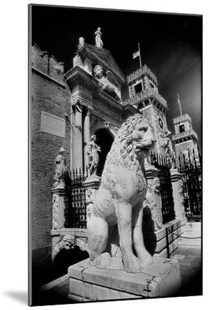 Lions Outside Tne Gates of the Arsenale-Simon Marsden-Mounted Giclee Print