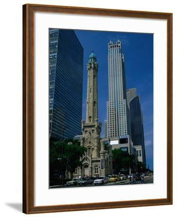 View of the Old Water Tower-Jim Schwabel-Framed Photographic Print