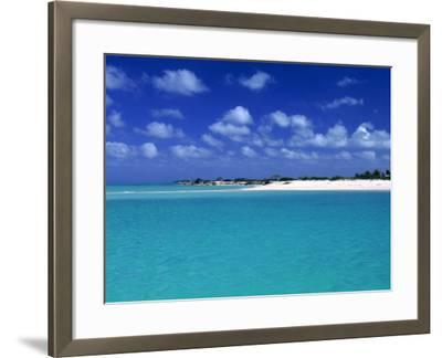 Tropical Scenic, Turks and Caicos Islands-Timothy O'Keefe-Framed Photographic Print