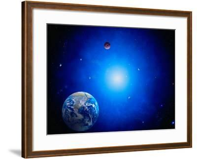 Earth and Sun-Ron Russell-Framed Photographic Print