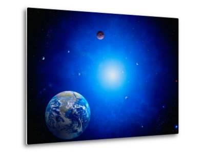 Earth and Sun-Ron Russell-Metal Print