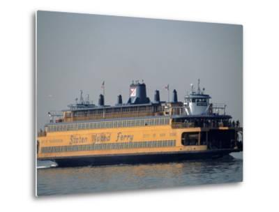 Staten Island Ferry, Staten Island, NY-Chris Minerva-Metal Print