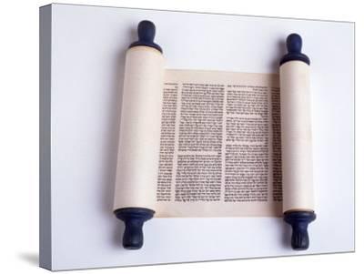 Torah-David Wasserman-Stretched Canvas Print