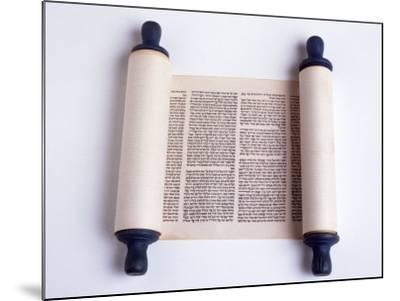Torah-David Wasserman-Mounted Photographic Print