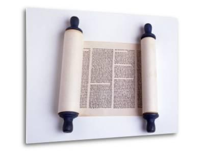 Torah-David Wasserman-Metal Print