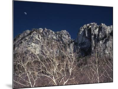 Seneca Rocks State Park, WV-Jeff Greenberg-Mounted Photographic Print