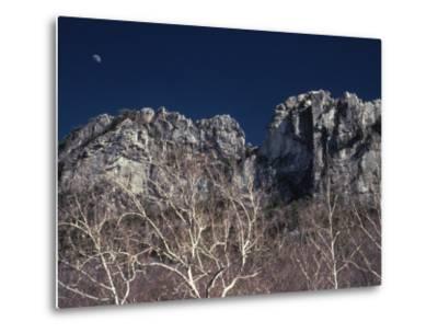Seneca Rocks State Park, WV-Jeff Greenberg-Metal Print