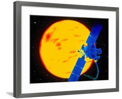 Satellite Around the Sun-Greg Smith-Framed Photographic Print