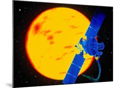 Satellite Around the Sun-Greg Smith-Mounted Photographic Print