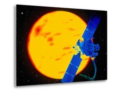 Satellite Around the Sun-Greg Smith-Metal Print