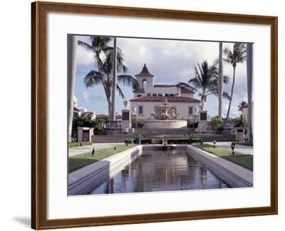 Palm Beach Town Hall, Palm Beach, FL-Robin Hill-Framed Photographic Print