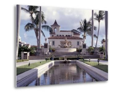 Palm Beach Town Hall, Palm Beach, FL-Robin Hill-Metal Print