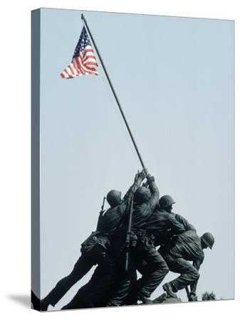 Iwo Jima Statue, Washington DC-Chris Minerva-Stretched Canvas Print