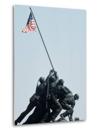 Iwo Jima Statue, Washington DC-Chris Minerva-Metal Print