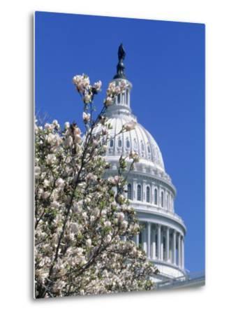 Capitol Building, Washington, DC-Mark Gibson-Metal Print