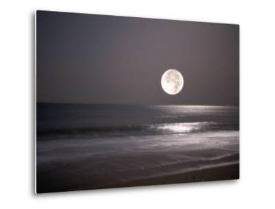 Full Moon-Mitch Diamond-Metal Print