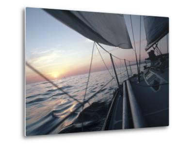 Sailboat-Steve Essig-Metal Print