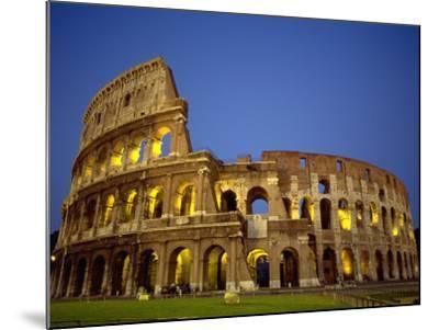 Exterior Amphitheater Ruins, Rome, Italy-Doug Mazell-Mounted Photographic Print