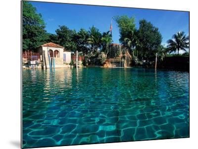 Venetian Pool, Coral Gables, Miami, FL-Robin Hill-Mounted Photographic Print
