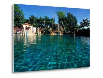 Venetian Pool, Coral Gables, Miami, FL-Robin Hill-Metal Print