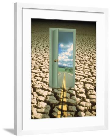 Virtual Doorway to a Better World-Carol & Mike Werner-Framed Photographic Print