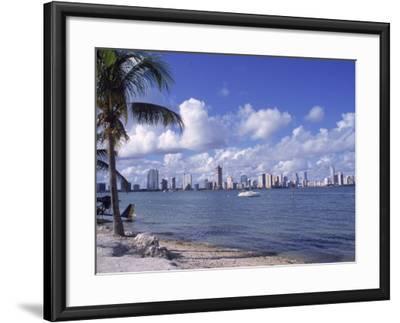 Miami Skyline, FL-Cheyenne Rouse-Framed Photographic Print
