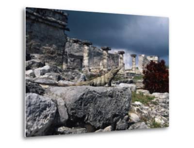 Mayan Ruins, Tulum, Mexico-Angelo Cavalli-Metal Print