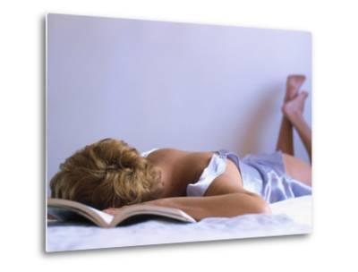 Woman Sleeping-Silvestre Machado-Metal Print
