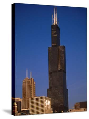 Sears Tower in the Afternoon-Bruce Leighty-Stretched Canvas Print