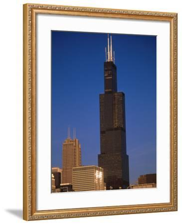 Sears Tower in the Afternoon-Bruce Leighty-Framed Photographic Print