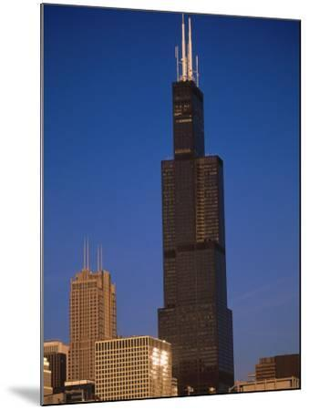 Sears Tower in the Afternoon-Bruce Leighty-Mounted Photographic Print