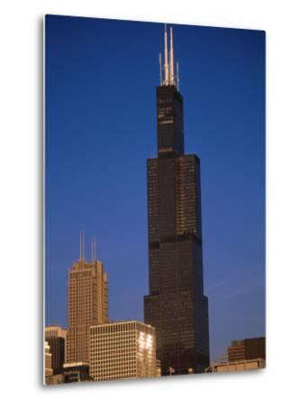 Sears Tower in the Afternoon-Bruce Leighty-Metal Print