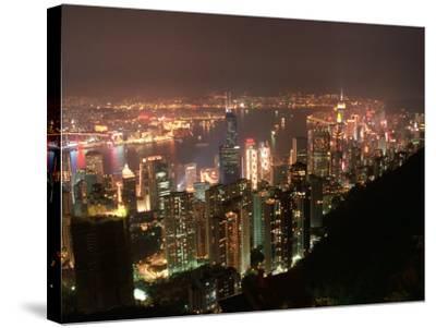 Hong Kong, China-Keith Levit-Stretched Canvas Print