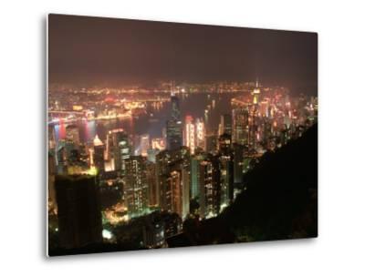 Hong Kong, China-Keith Levit-Metal Print