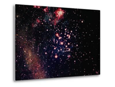 Stars and Nebula-Terry Why-Metal Print