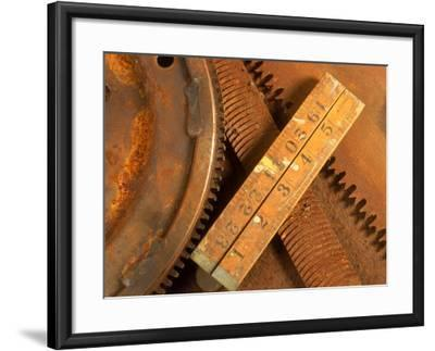 Dilapidated Work Tools-Terry Why-Framed Photographic Print