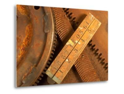 Dilapidated Work Tools-Terry Why-Metal Print