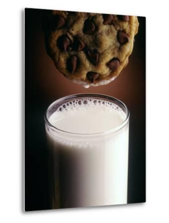 Chocolate Chip Cookie and Milk-John T^ Wong-Metal Print