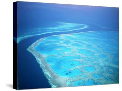 Hardy Reef, Queensland, Australia-David Ball-Stretched Canvas Print