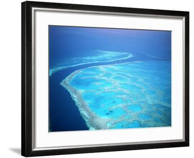 Hardy Reef, Queensland, Australia-David Ball-Framed Photographic Print