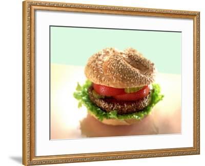 Hamburger-ATU Studios-Framed Photographic Print