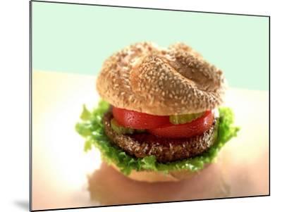 Hamburger-ATU Studios-Mounted Photographic Print