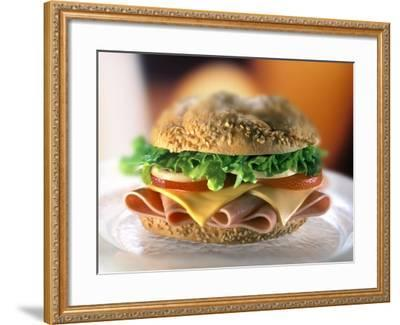 Ham and Cheese Sandwich-ATU Studios-Framed Photographic Print