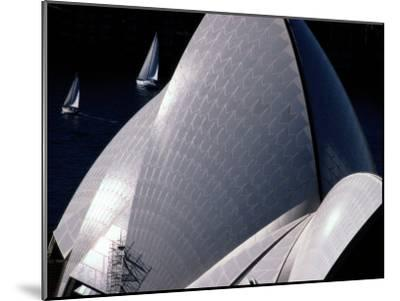Elevated View of the Sydney Opera House-Paul Chesley-Mounted Photographic Print